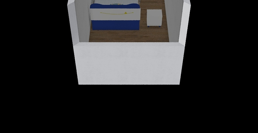 spalnica Interior Design Render