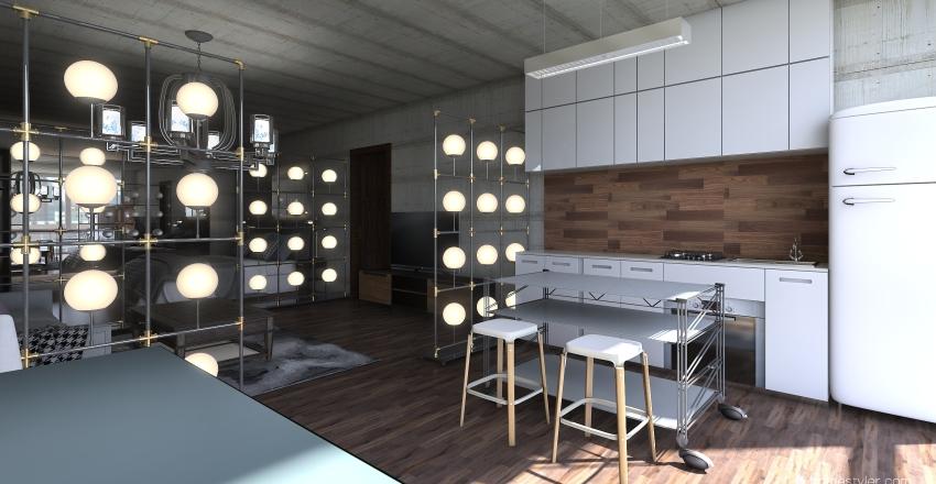apartment 27 Interior Design Render