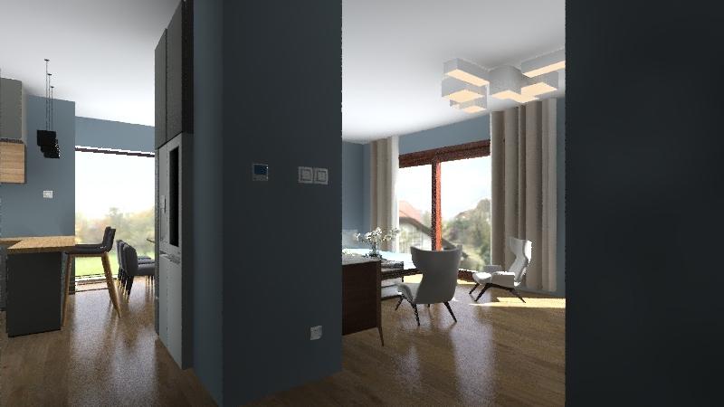 Parter Zwymiarowany Interior Design Render