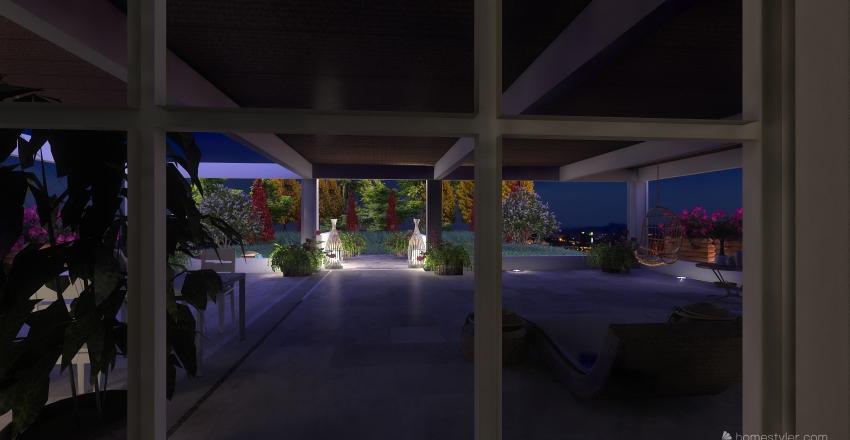 Paradise.  Interior Design Render