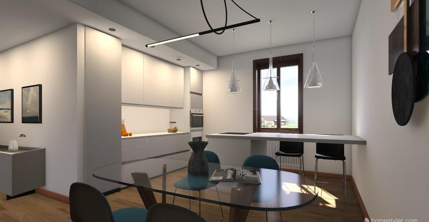 casa pavia Interior Design Render