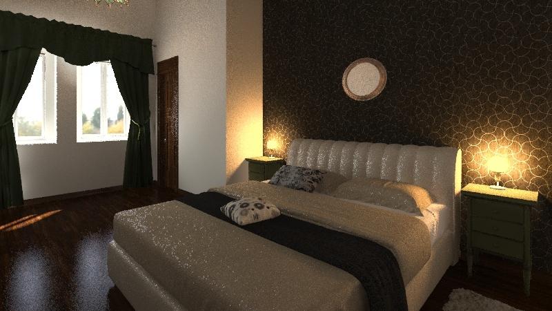 camera appartamento 4 Interior Design Render