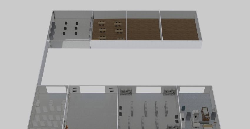 VD Logística Interior Design Render