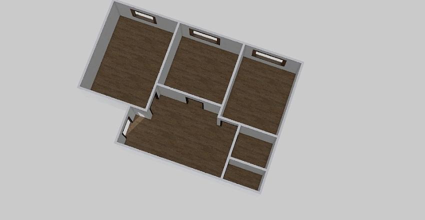 2-комн_0344 Interior Design Render