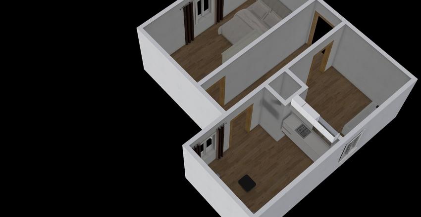 Zámecký okruh 2kk Interior Design Render
