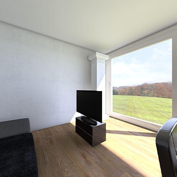 Brussels Apartment Evere Furnished Radical Interior Design Render