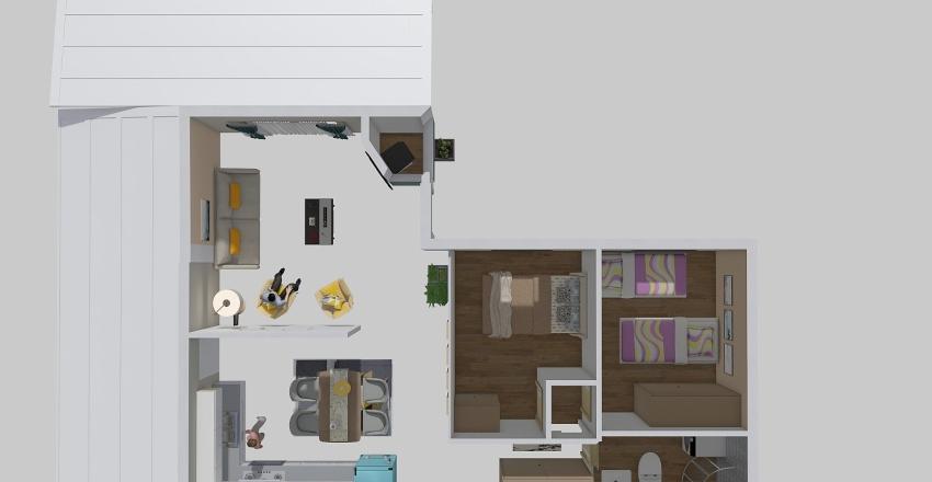 ΣΟΦΟΥ isogeio 2 Interior Design Render