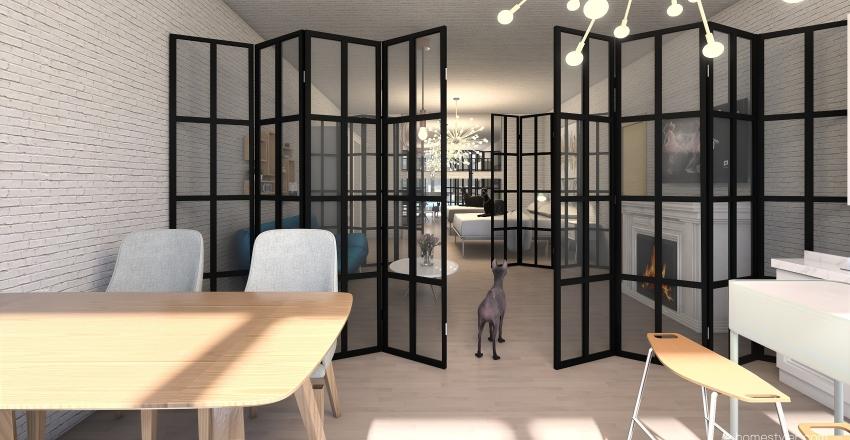 apartment 28 Interior Design Render