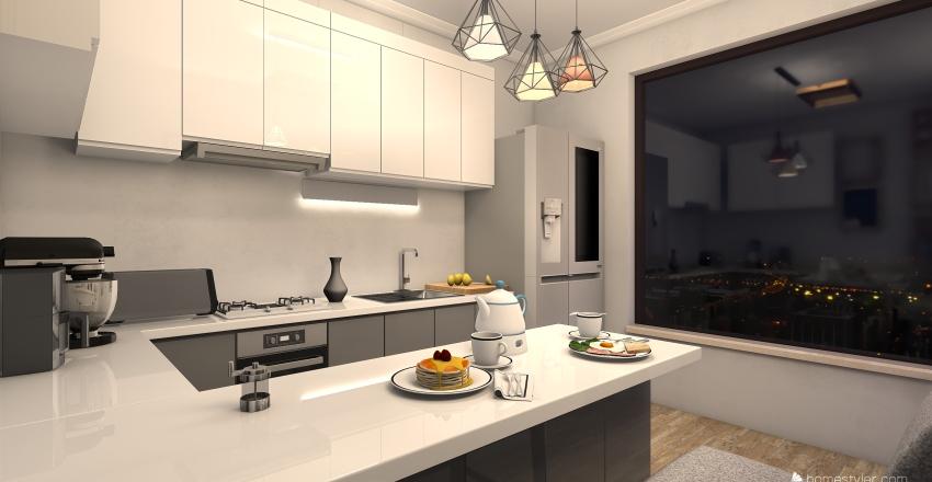 cucina standard  Interior Design Render