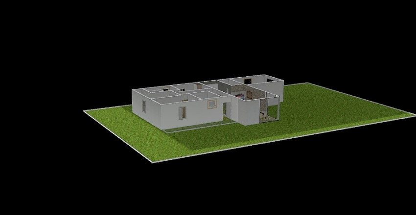 O NOSSO CANTINHO 2 Interior Design Render