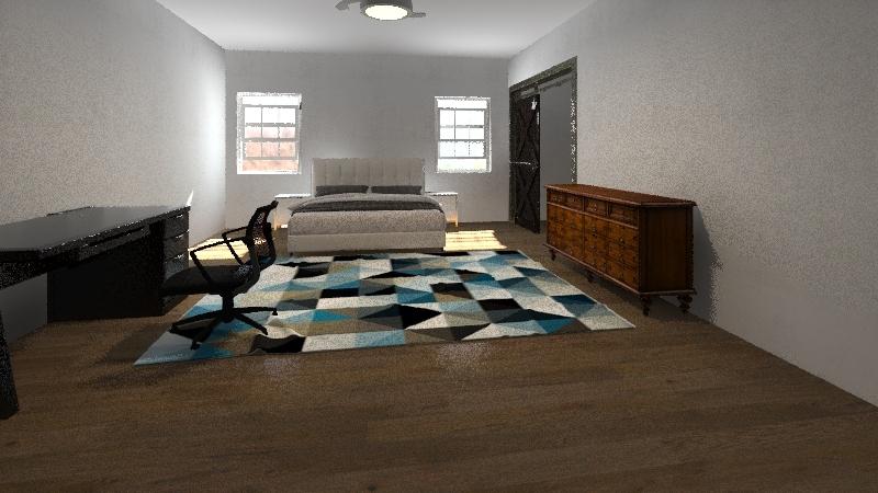Finals (Upstairs) Interior Design Render