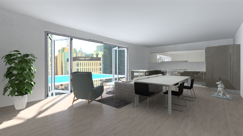 Gleb Colesnic Interior Design Render