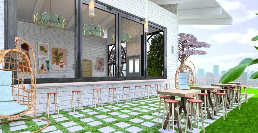 Café Lifestyle  Interior Design Render