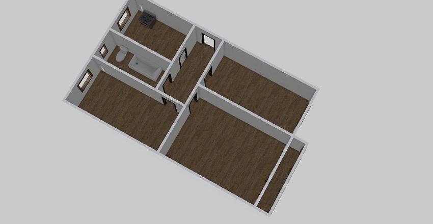 3-комн_0235 Interior Design Render