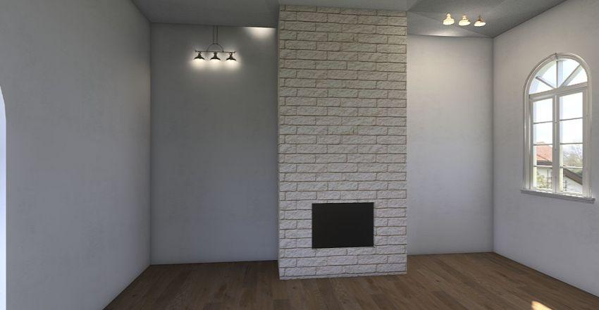 Зал 1 Interior Design Render