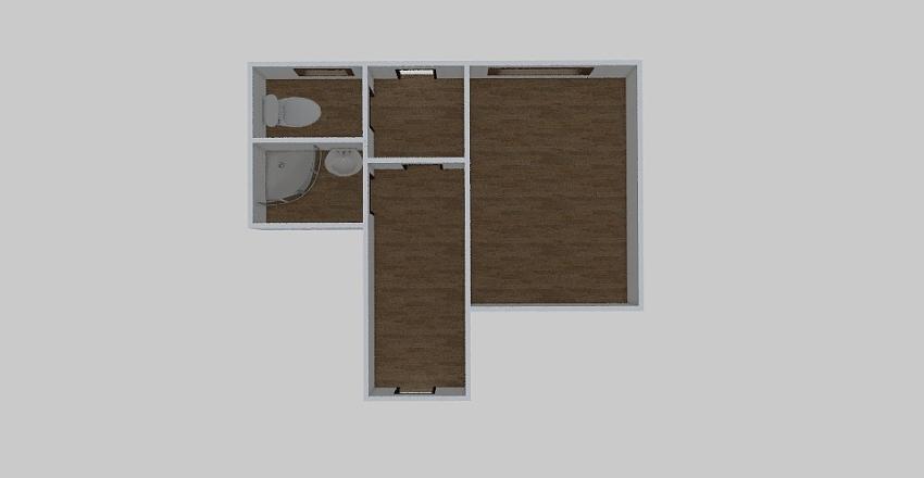 1-комн_0367 Interior Design Render