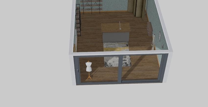The Sew Lab Interior Design Render