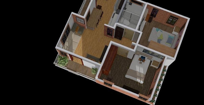 Cabaña Carlos V5 Interior Design Render