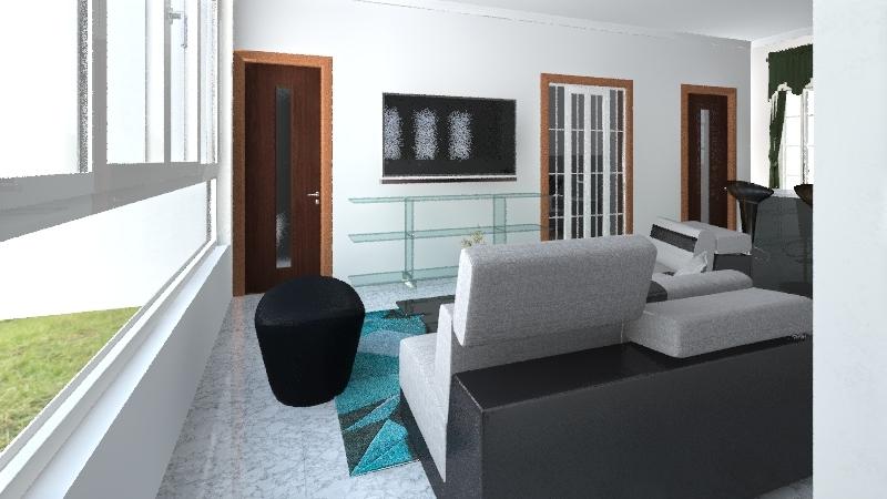 Casa El Junquito Interior Design Render