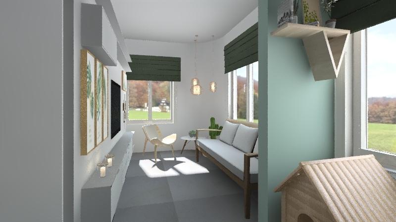 APARTAESTUDIO LA CEJA Interior Design Render