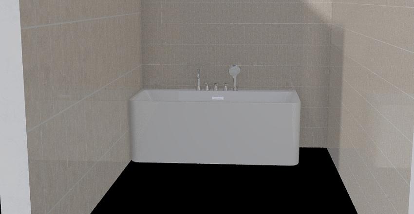 bañera Interior Design Render
