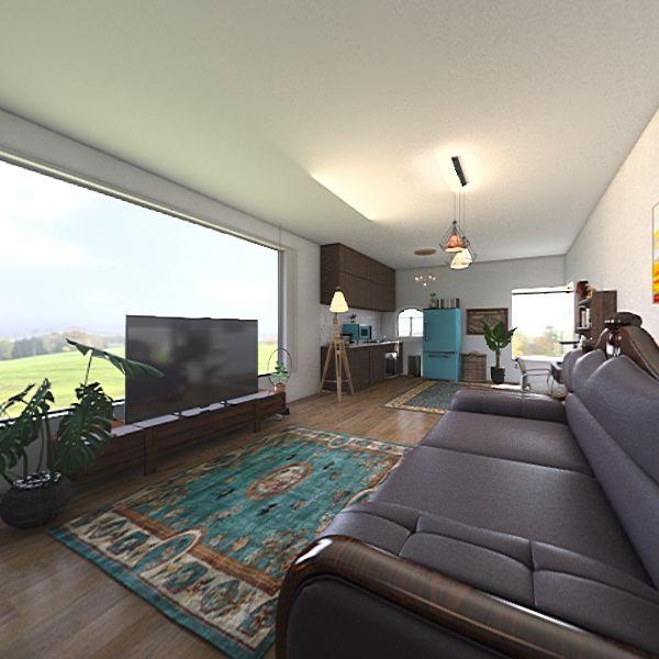 double apartment Interior Design Render
