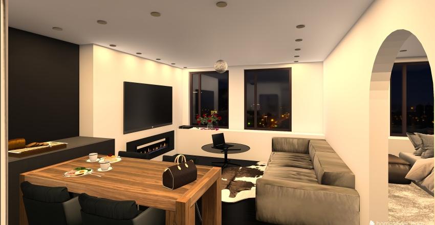 Bruges Interior Design Render