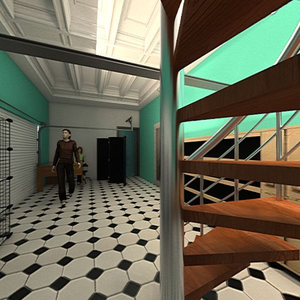LOJA ARCOS Interior Design Render