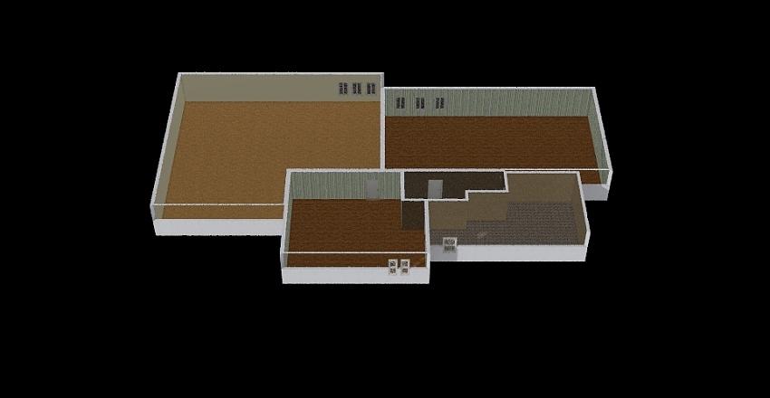 90.000 sq ft Interior Design Render
