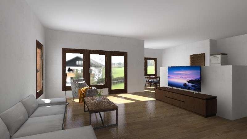 Muuga maja 3D Interior Design Render