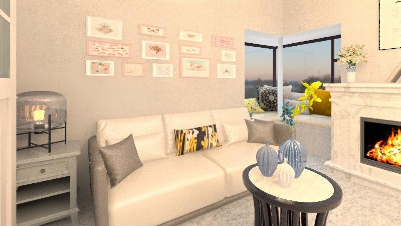 About Me Interior Design Render