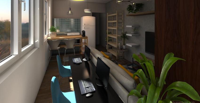 PROJETO CASA PRAIA GRANDE 1 Interior Design Render