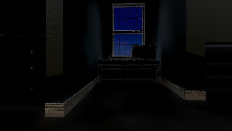 actual bedroom Interior Design Render