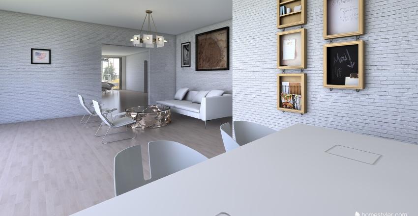 villa 2 Interior Design Render