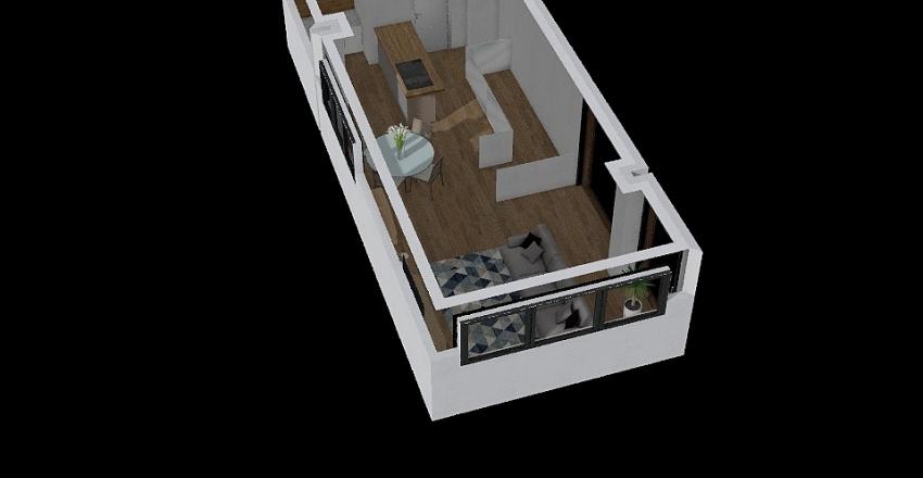 Cocoon Interior Design Render