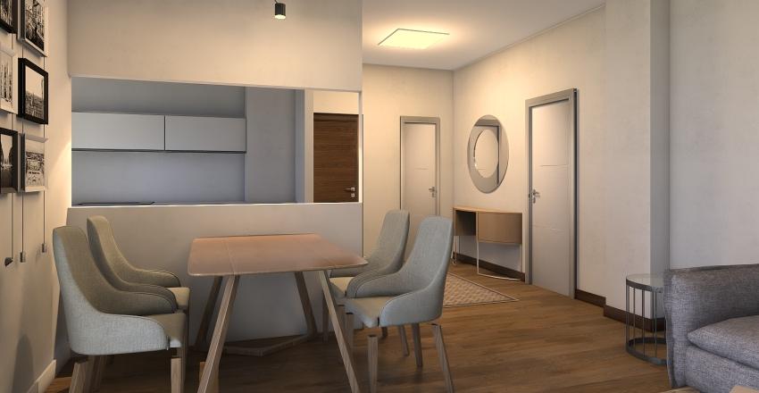 soggiorno Interior Design Render
