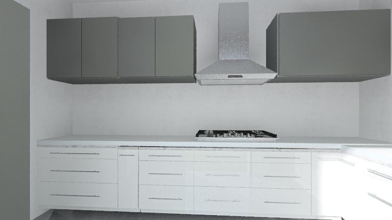 ANI KITCHEN Interior Design Render