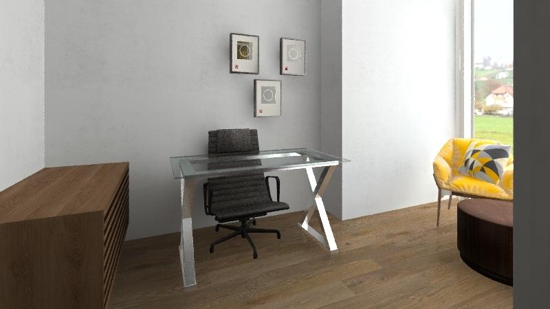 Office 1 Interior Design Render