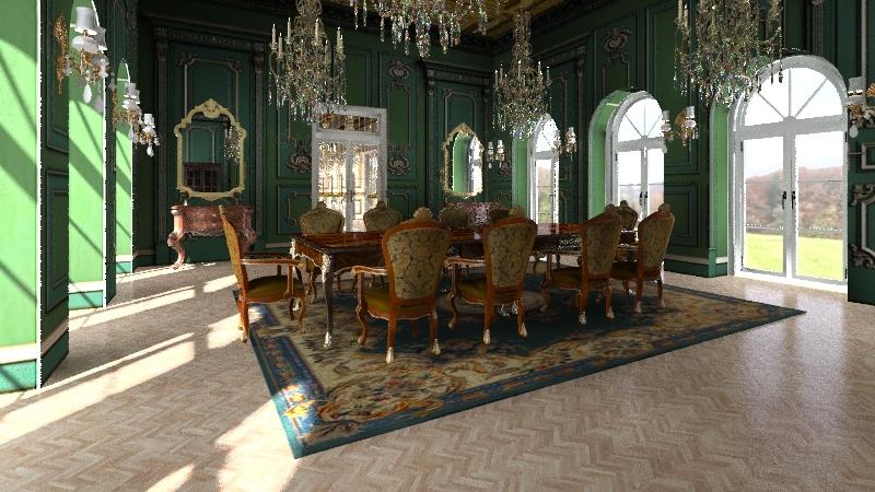 Versailles Interior Design Render