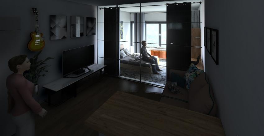 студия 35кв Interior Design Render