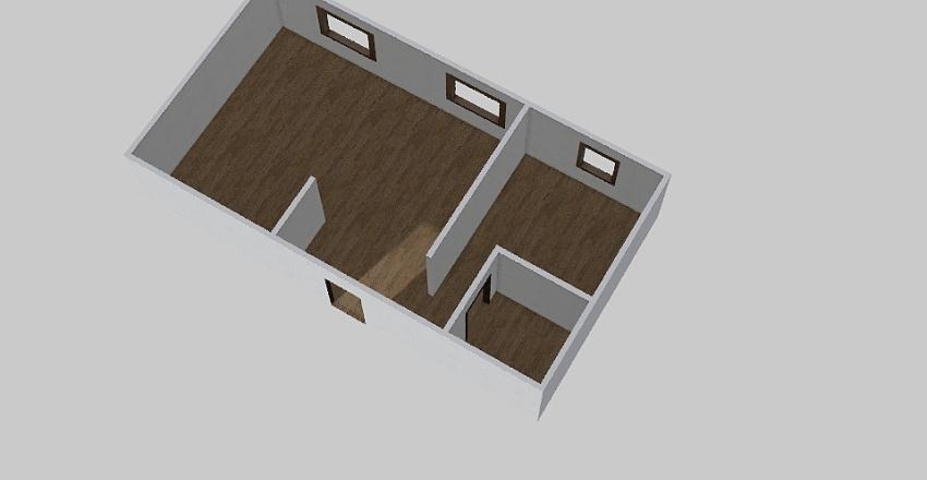 1-комн_0368 Interior Design Render