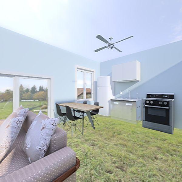 Apartamento Ubatuba Interior Design Render