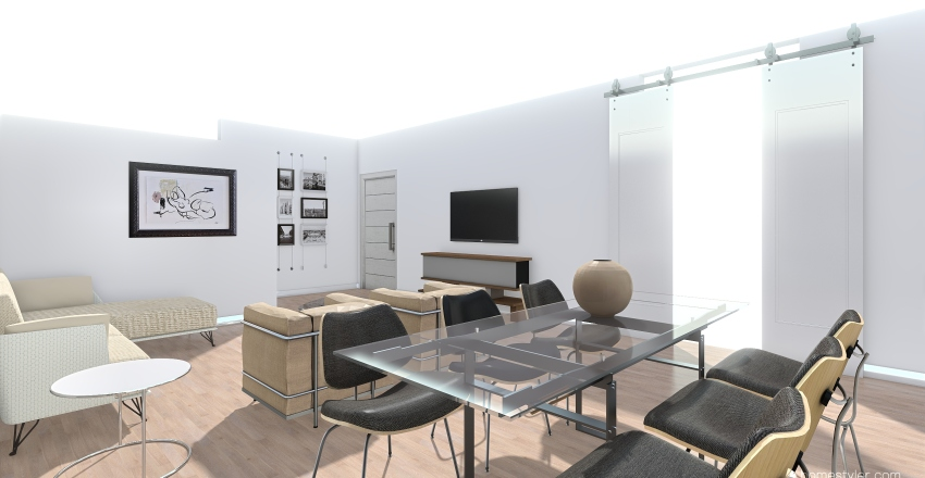 GI&LO-ANTICAMERA-2021 Interior Design Render