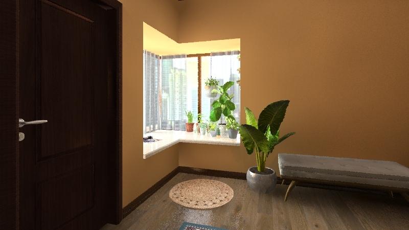 ~boho bedroom~ Interior Design Render