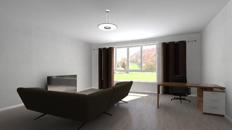 Тестовый проект 01 Interior Design Render