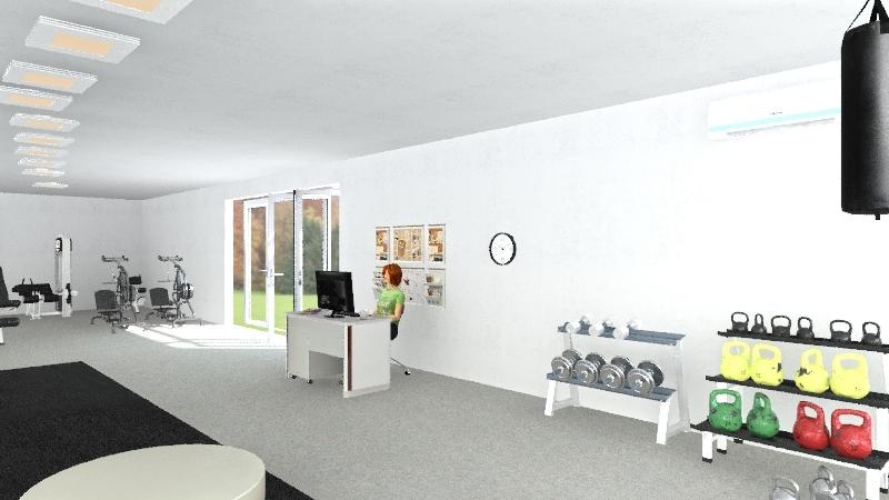 eventoClauG Interior Design Render