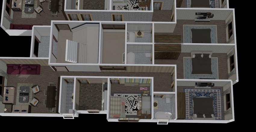 Badr test2 2D furnished Interior Design Render