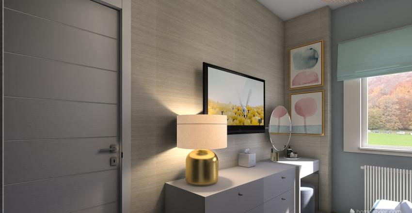 Lindsey's bedroom v2 Interior Design Render