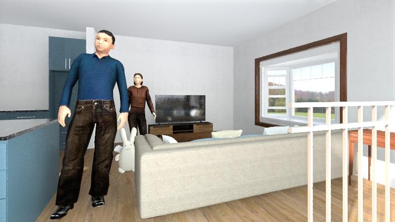 283 Weed Interior Design Render