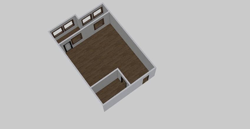 1-комн_0369 Interior Design Render